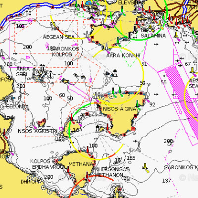 Naytikoi Xartes Navionics Psarema All4fishing Gr